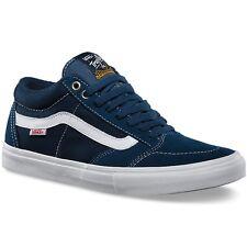 Vans TNT SG WASHED CANVAS NAVY Trujillo Men's Classic Skate Shoes Size sz 6.5