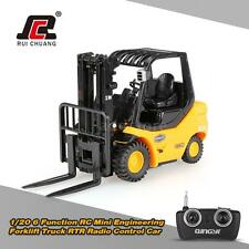 RUICHUANG 1/20 6 Function RC Mini Engineering Forklift Truck RTR Car A7O3