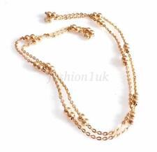 Collares y colgantes de bisutería color principal oro sin piedra
