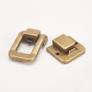 48mm Iron Toggle Latch Lock Suitcase Box Trunk Chest Catch Flight Case Clasp