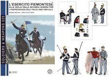a Cavalleria dell'Esercito Piemontese alla vigilia del 1859