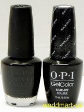 OPI Gel & Nail Polish 15ml/0.5fl.oz Color T02- Black Onyx