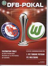 Orig.PRG   DFB Pokal Frauen  14/15  FINALE   VfL WOLFSBURG - TURBINE POTSDAM  !!
