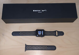 Apple Watch Series 3 Nike+ 42mm Space Gray Case GPS