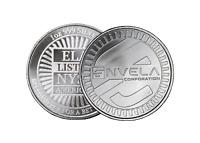 1 oz Envela 0.999 Silver Round - ELA NYSE Symbol Stamped