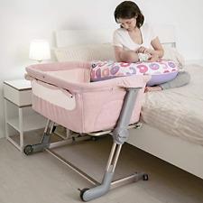 Hug Me Plus, Bedside Sleeper Baby Bassinet Portable Crib Includes Travel Bag