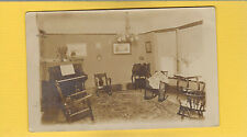 RPPC Interior view Living Room w/ Victorian furniture,DOANE cancel Springpark,MN