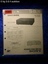 Sony Service Manual TA DS70 Amplifier  (#1381)