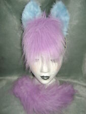 Sparkler My Little Pony Horse Foal Ears And Tail Set Blue & Lilac Fancy Dress