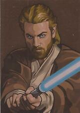 """Star Wars Galaxy 5 - """"Bronze Foil Parallel"""" Chase Card #9"""