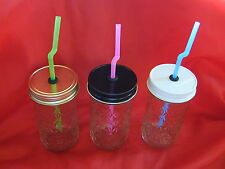 Mason Jar Drinking Glass Converters - Cocktail, Beverage, Party, Sippy Cup