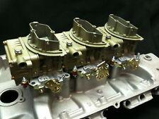 Ford FE & SBF, SBC, Pontiac, Olds, Chrylser 3x2 tri power six pac carburetors