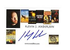 Kevin J. Anderson-signed photo