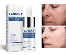 100% Pure HYALURONIC ACID Anti-Aging-Plumps Wrinkles-Intense Hydration Fast Ship