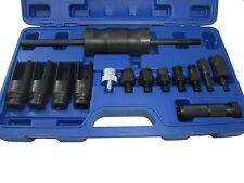 Bergen outils 14pc injecteur extracteur avec common rail adaptateur 5538 neuf