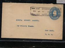Costa  Rica  postal  envelope  to  US                 KEL0409
