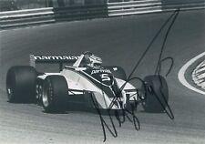 Nelson Piquet Formula 1 World Champion Autograph Signed F1 Photo 1980 Brabham