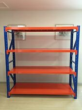 Limited time only 800 kg Heavy Duty Garage Racking Warehouse Shelving