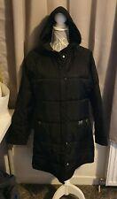 F100 Ladies Firetrap Black Padded Winter Coat size large L