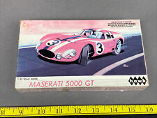 Vintage Hawk 1/32 scale Maserati 5000 Gt Unbuilt Model Car, Slot Car Conversion