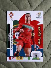 Panini card 175 UEFA Euro 2012 Adrenalyn XL Star Player Cristiano Ronaldo