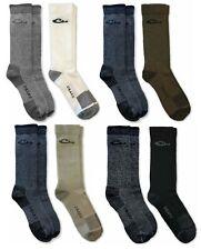 Drake Mens Premium Thermal 80% Merino Wool Moisture Control Crew Sock System 2PK