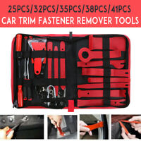 Steel Car Trim Removal Tool Auto Hand Tools Pry Bar Dash Panel Door Interior Kit