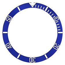 8926Ob Engraved Number Blue Top Quality Bezel Insert Ceramic For 40Mm Invicta