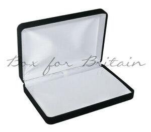 Luxury Black Velvet Jewellery Necklace,Pendant Gift Box Jewellery  Display Box