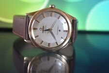 Omega Constellation Pie Pan 18K  Solid Rose Gold With Champagne Dial !