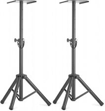 Stagg Two height adjustable monitor or light stands with folding legs SMOS-20