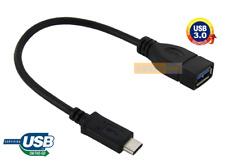 CABLE USB (3.0) Type-C OTG Transfert Données Noir / MOTOROLA Moto Z3, Z3 Play