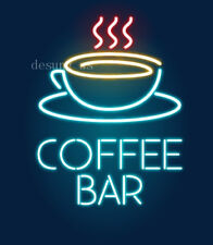 "New Coffee Bar Cafe Beer Wall Decor Light Neon Sign 24""x20"""