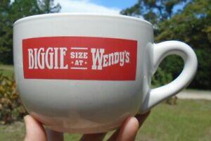 Jumbo Large 24 oz. Biggie Size at Wendy's Grande Latte Cappucino Coffee Mug Cup