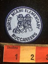North Miami Elementary Buccaneers - Florida School Patch S77D
