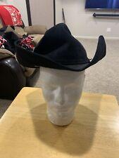 Resistol Trail Dust Self Conforming XXXXX Beaver Cowboy Hat Size 6 7/8 Long Oval