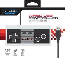 GAMEPAD NES RETRO-BIT USB PER WINDOWS ANDROID MAC LINUX RETROPIE NINTENDO SWITCH