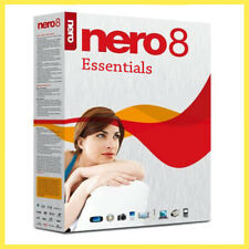 Nero 8 Essentials Full Version Software + Key Lifetime  for 3 Pc