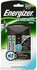 Energizer ProCharger AA/AAA BatteryCharger with 4 2000 mAh AA Rechargeable Batts