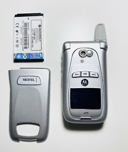 Motorola i870 Nextel (Sprint) Flip Phone / Walkie Talkie
