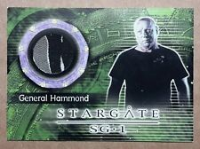 Stargate SG-1 Costume Card - C6 General Hammond Costume Material