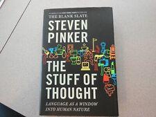 Las cosas de pensamiento: lenguaje como una ventana a la naturaleza humana por Steven..