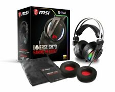 MSI Gaming RGB Stainless Steel 7.1 Surround Sound Audio Controller Headset