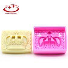 3D Diy Crown Silicone Thicken Mold Fondant Candle mould Cakes Candy Soap Tool