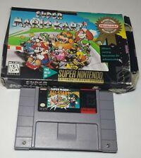 Super Mario Kart + Allstars Authentic SNES Super Nintendo Game Testd Working