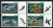 Angola 2018 MNH Fishes Grea Sea Turtle 4v Set Turtles Fish Marine Stamps