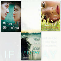 If I Stay,Where She Went, 3 Books Various  Romance Collection Paperback English