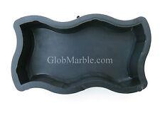 Paving Stone Mold. Paver Cement Forms. Plastic Concrete Paver Molds PS 4123/1