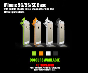 Flash Case for iPhone 5, 5s & SE Light up Remind Incoming Call Cover