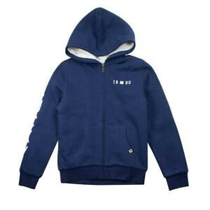 Lucky Youth Full Zip HOODIE BLUE XS / S / M Please Choose NEW Free Ship